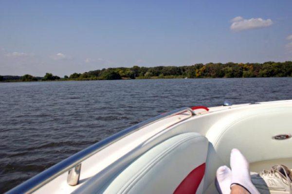 A perfect Saturday in the boat!