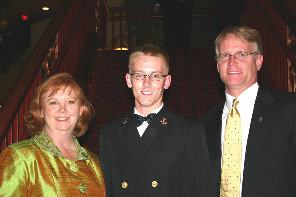 Navy Seal and the parents