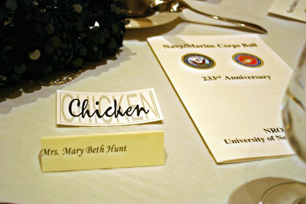 Chamber Chicken for Dinner!