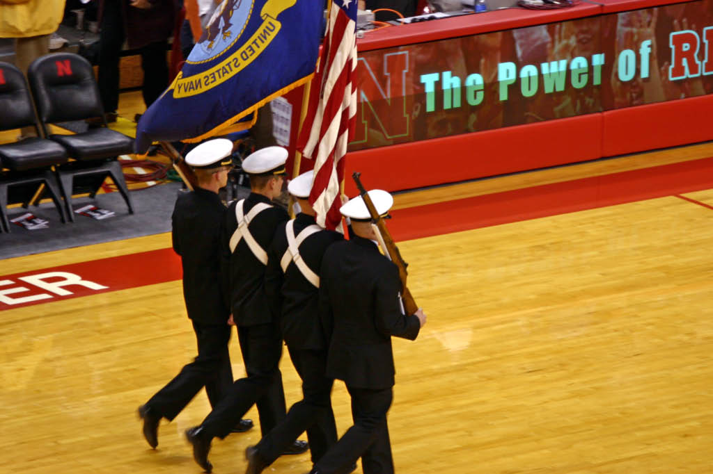 Shoulder to Shoulder, stepping together, Dress Blues.....