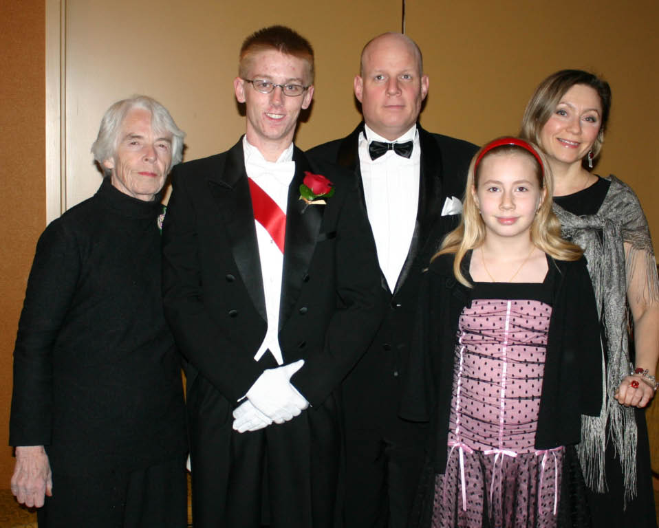 Our favorite guests from Moscow...and Grandma