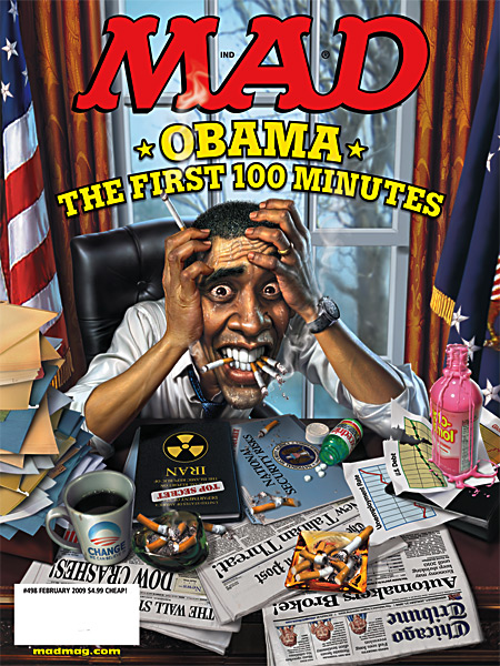 The First 100 Minutes....from Mad Magazine