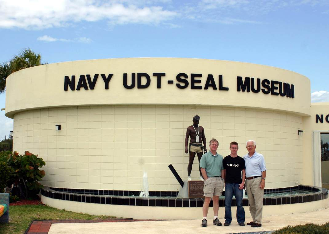 The Navy Seal Museum in Ft. Pierce, Florida, was EXCELLENT.