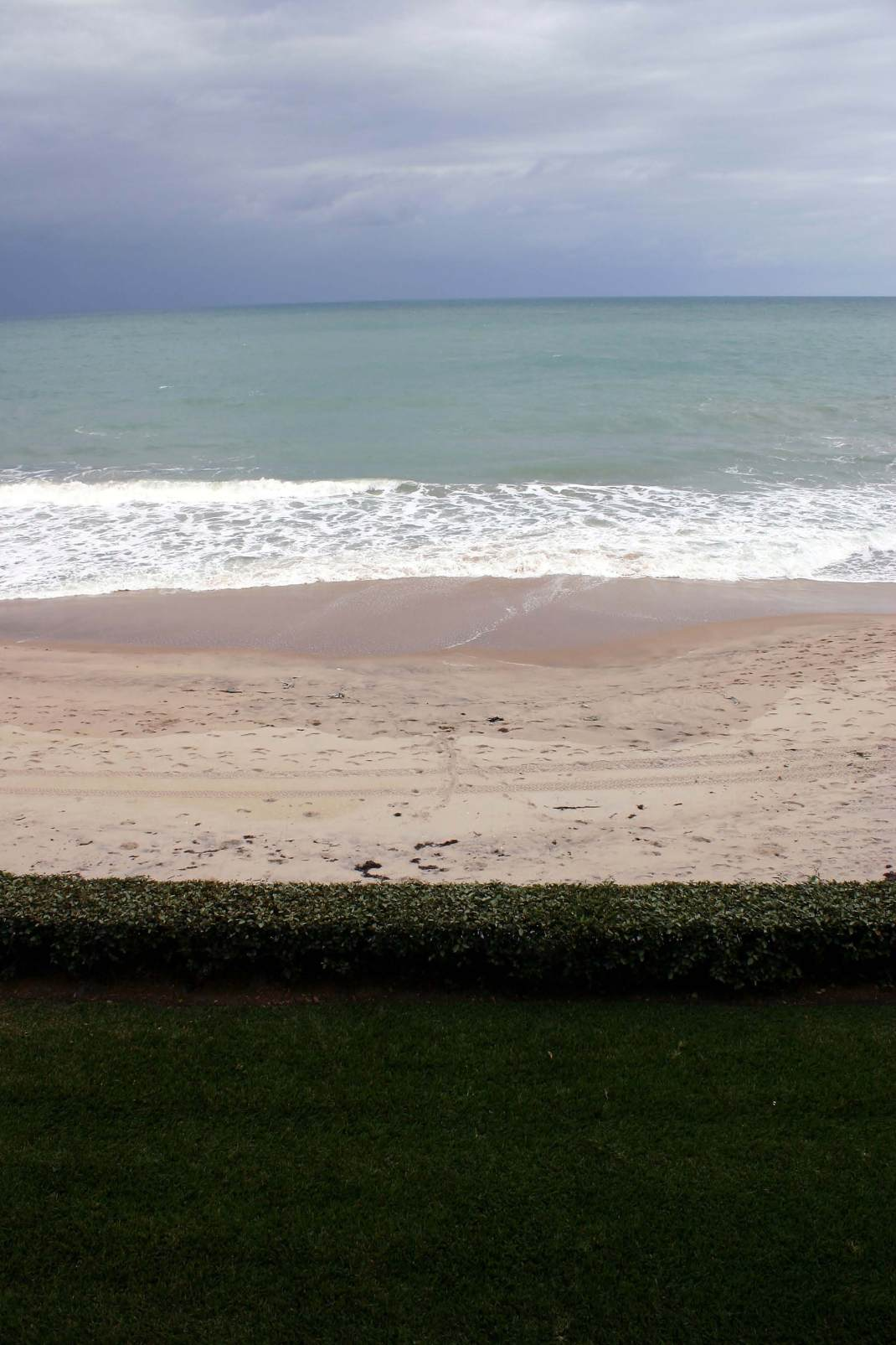 The view from my Uncle's Winter Residence. The waves were almost deafening. It was truly beautiful.