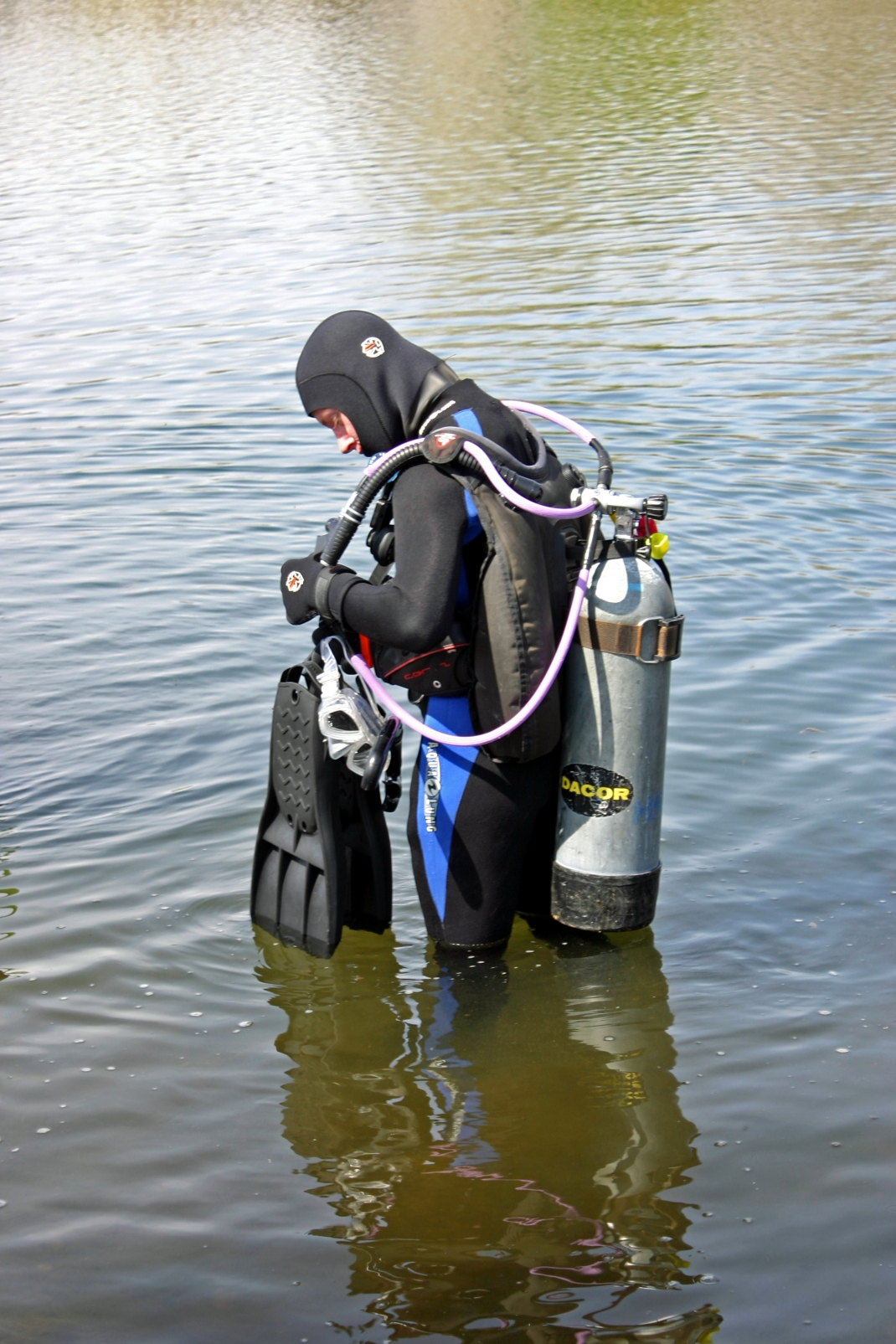 Matt took a search and rescue class in Kearney