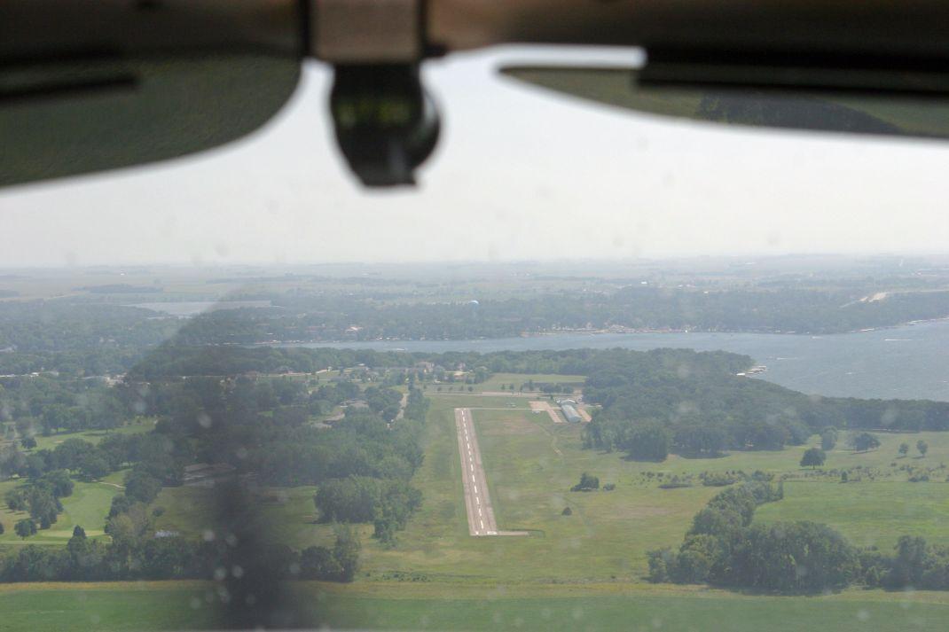 Okoboji Airport Straight Ahead
