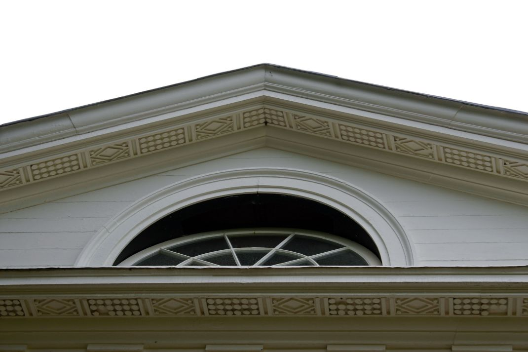 Beautiful trim on the UNDERSIDE at Monticello
