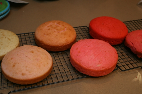 Cooled Cakes