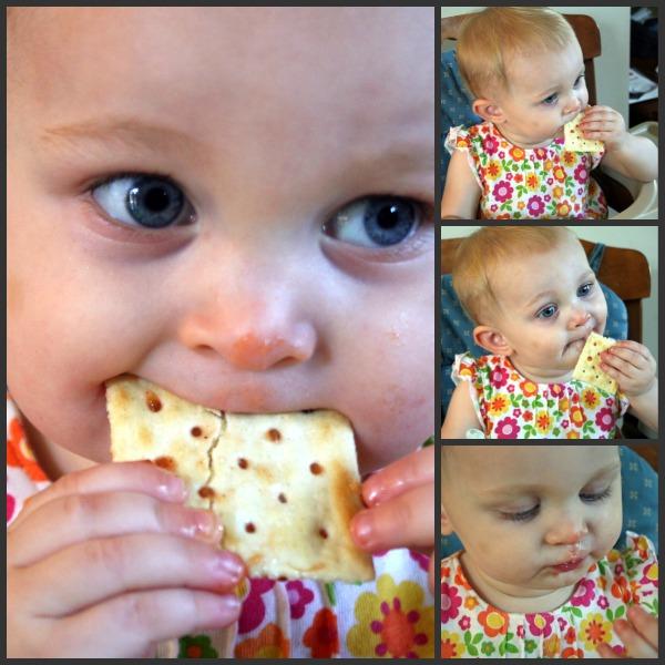 Alice Eating Cracker & Jam