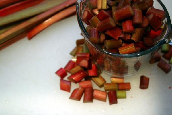 2 cups diced rhubarb