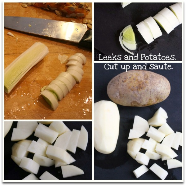 Leeks Potatoes