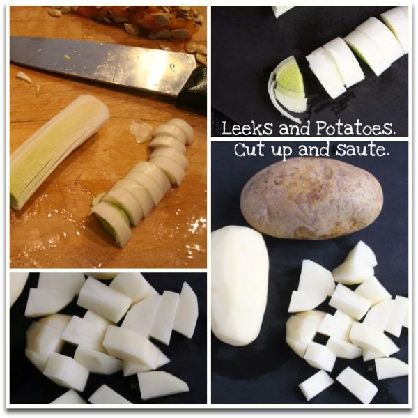 Leeks Potatoes