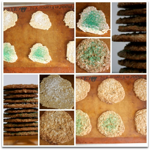 Oatmeal Cookies on sheet