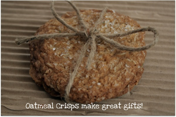 Oatmeal Cookies Make Great Gifts