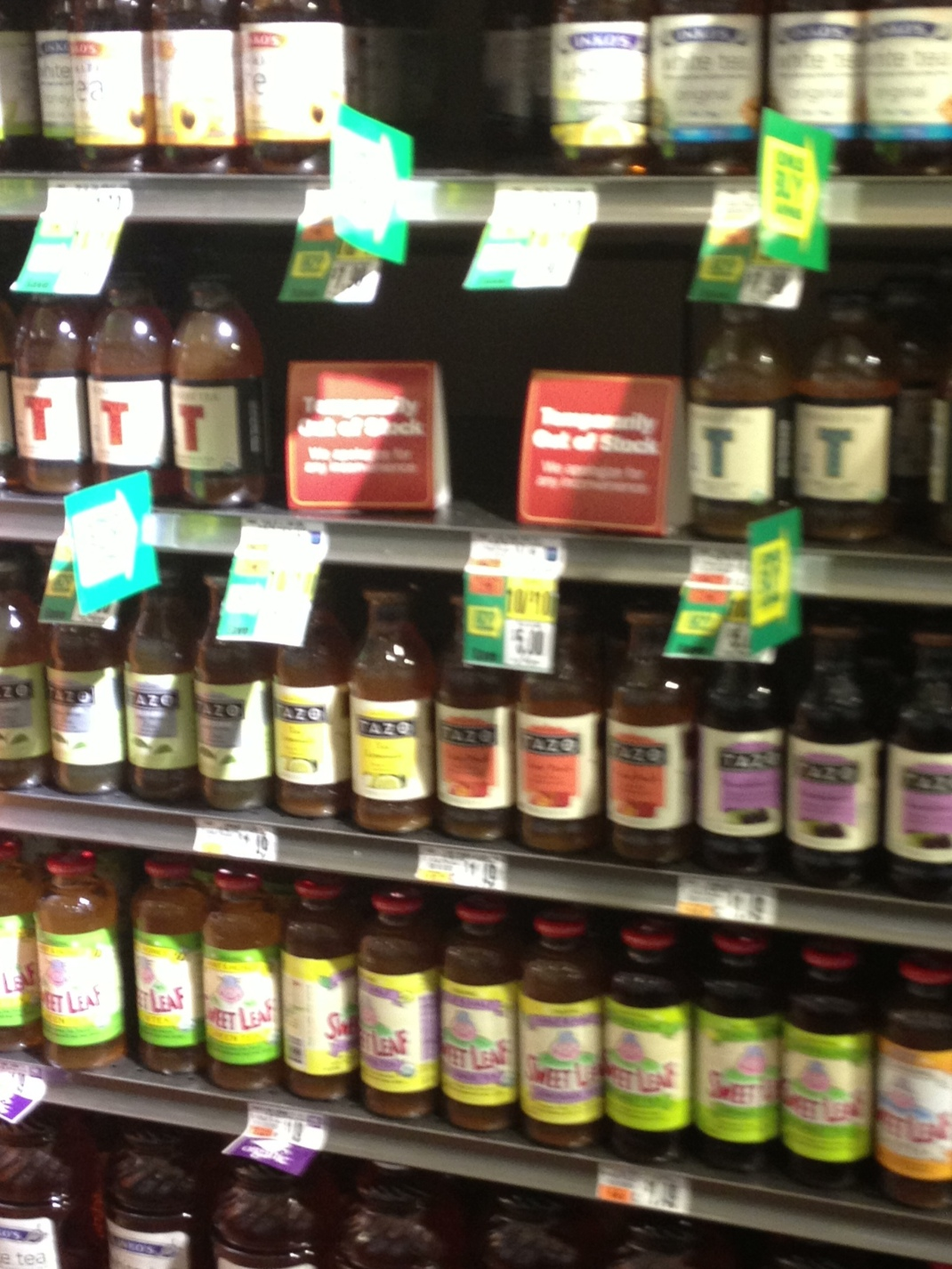 Tazo Tea Bottles