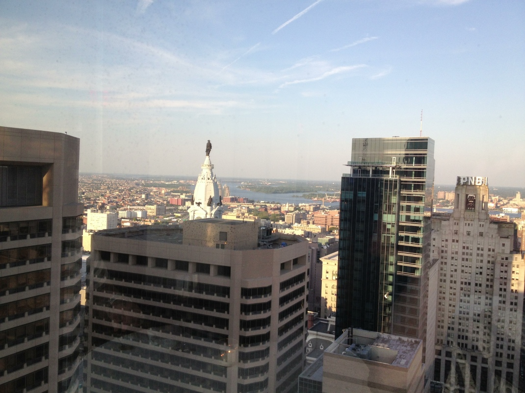 View from R2L Restaurant