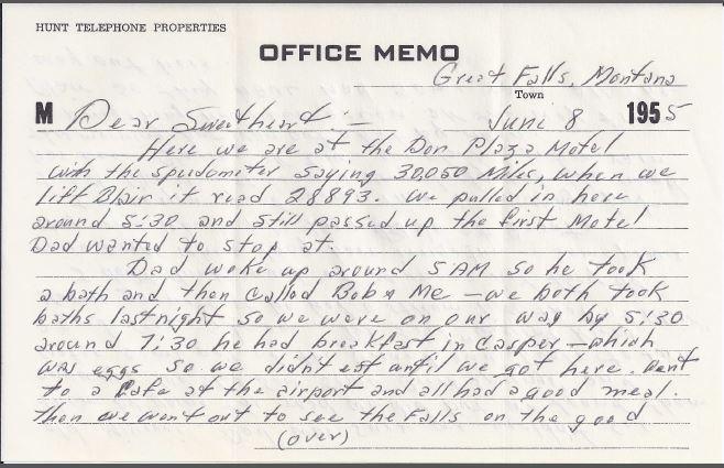 June 8, 1955 letter