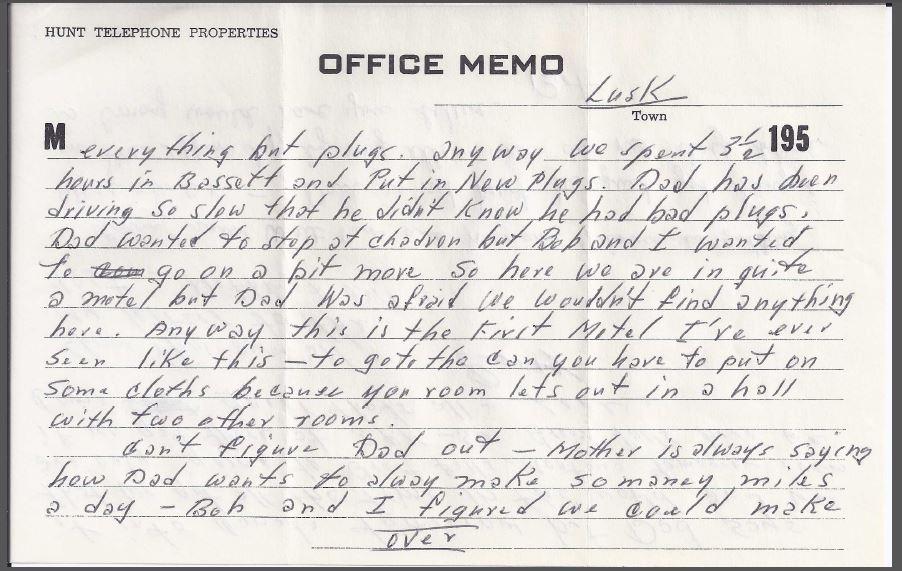 June 1955 letter