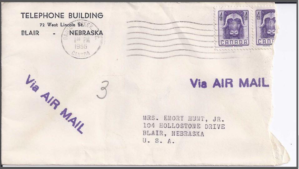 1955 Envelope