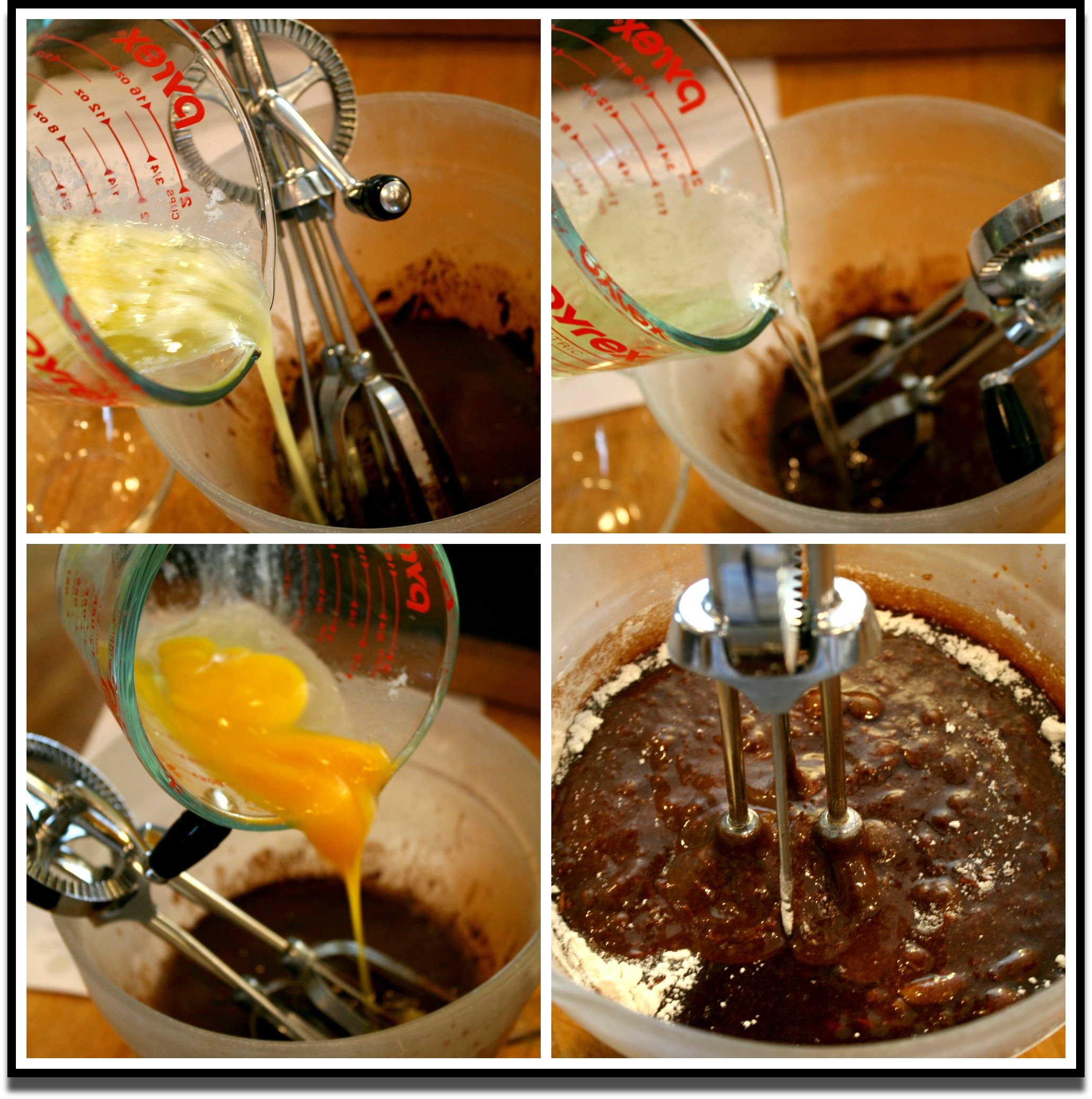 Brownie Mixing