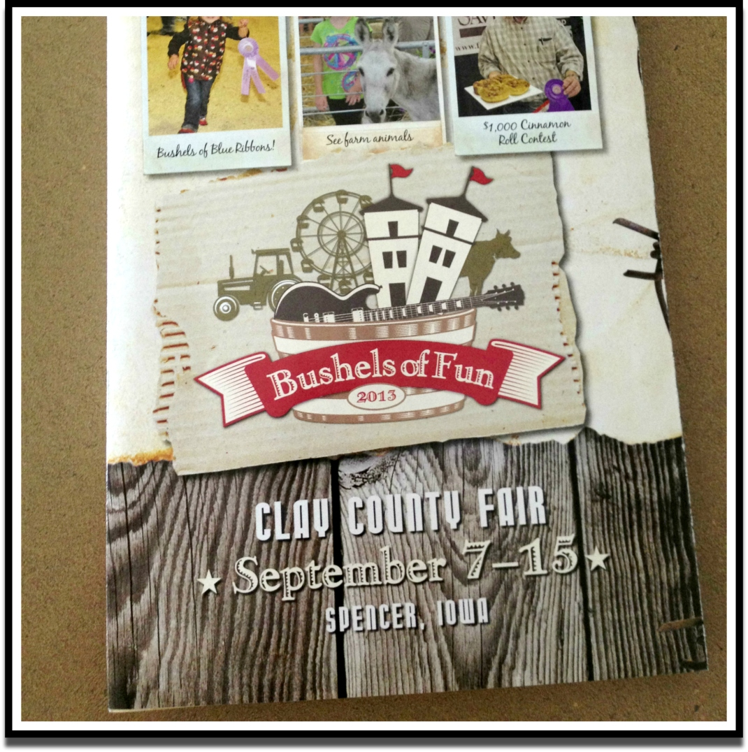 Clay County Fair Brochure