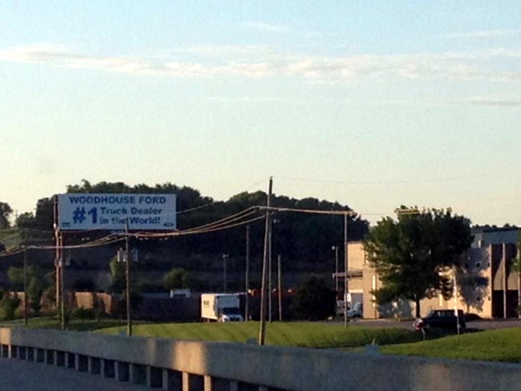 Woodhouse Ford Billboard