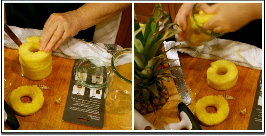 Pineapple in Weck Jar