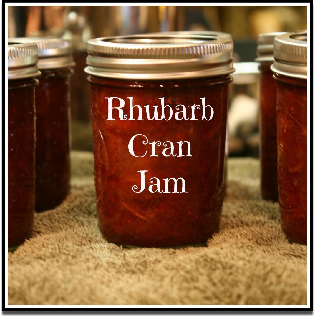 Rhubarb Cran Jam